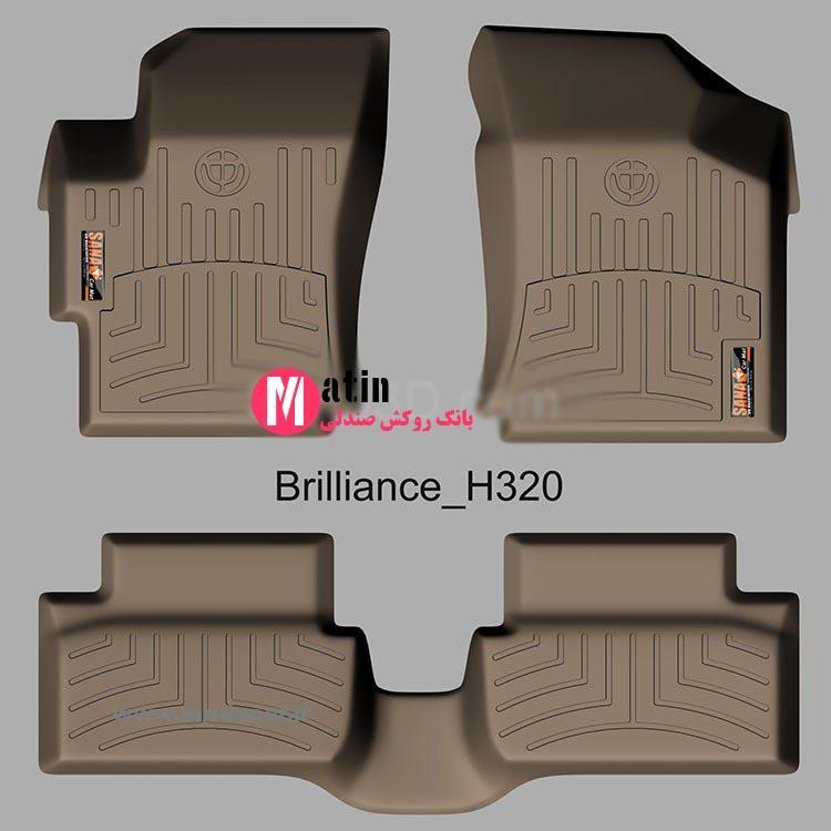 کفپوش سه بعدی برلیانس h320کفپوش سه بعدی برلیانس h320