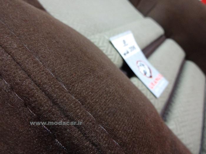 روکش صندلی پژو 206