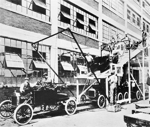 بررسی تاریخچه رنگ خودرو