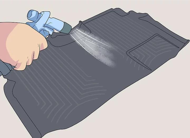 ابکشی قبل از شست و شوی کفپوش سه بعدی