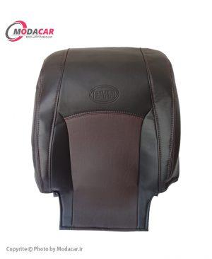 روکش صندلی چرم مشکی قهوه ای - BYD - آیسان