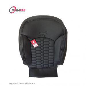 روکش صندلی 206 - چرم مشکی - اورانوس