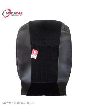 روکش صندلی 206 - چرم و مخمل مشکی - اورانوس