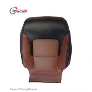 روکش صندلی برلیانس 320-330 - چرم مشکی قهوه ای - آیسان