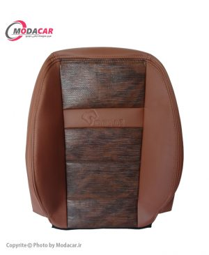 روکش صندلی دنا و دنا پلاس - چرم مارون قهوه ای پوست ماری - اورانوس